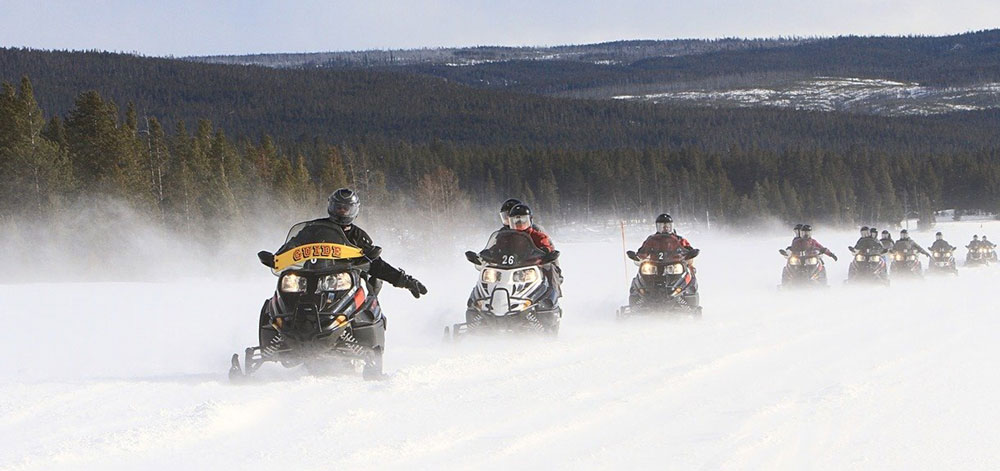 snowmobile touring