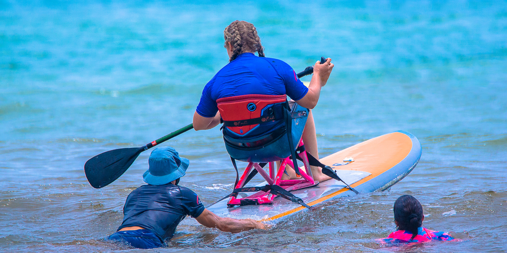 Adaptive paddle sports