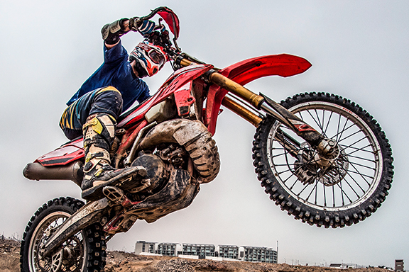 Card image cap for Blitzing Whoops and Casing Jumps: A Crash Course in Motocross Slang