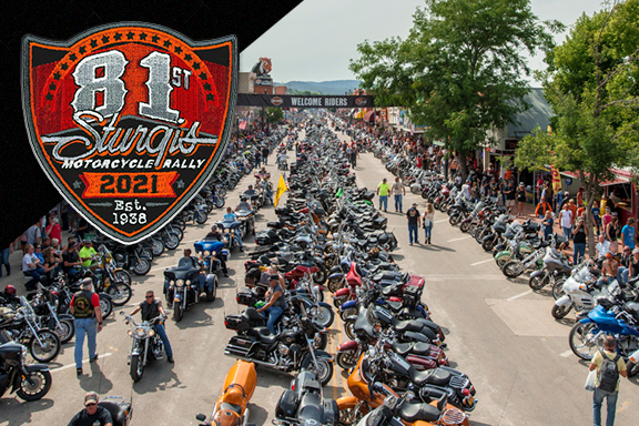 Card image cap for Sturgis!! Get HYPED for the 81st Iconic Motorcycle Rally in South Dakota