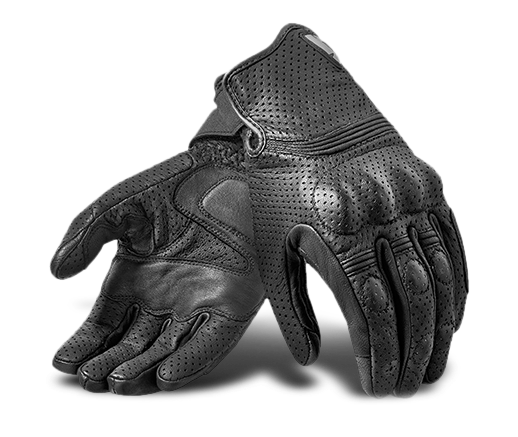 Viscoelastic knuckled Motorcycle Gloves