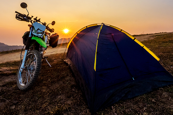 Card image cap for Achieving the Best Motorcycle Camping Experience