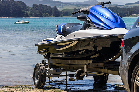 Card image cap for How to Load Jet Skis onto a Trailer