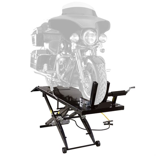 BW-1000A Pneumatic Motorcycle Lift Table