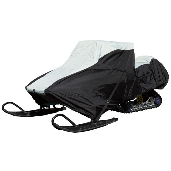 SNC-DLXT Black Ice Waterproof Snowmobile Cover