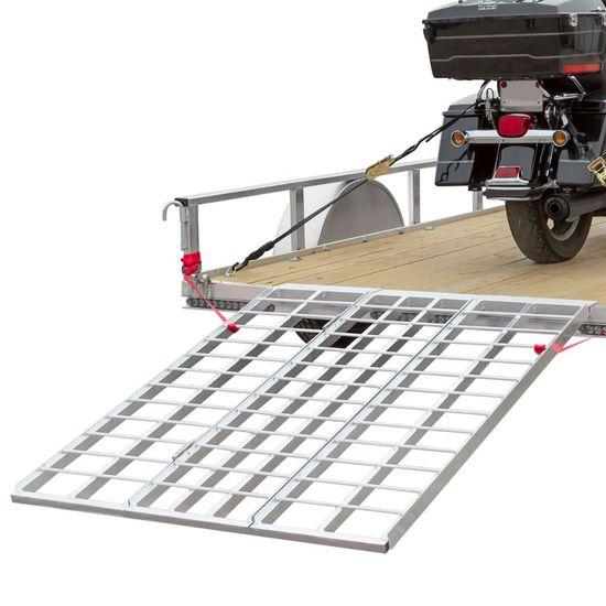 TF-6050-1500A Folding Motorcycle Trailer Ramp