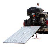 BFP-9450 7 10 Punch Plate Bi-Fold ATV Ramp