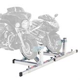 BW-PRO-CHOCK-2 Two Adjustable Width Motorcycle Wheel Chocks