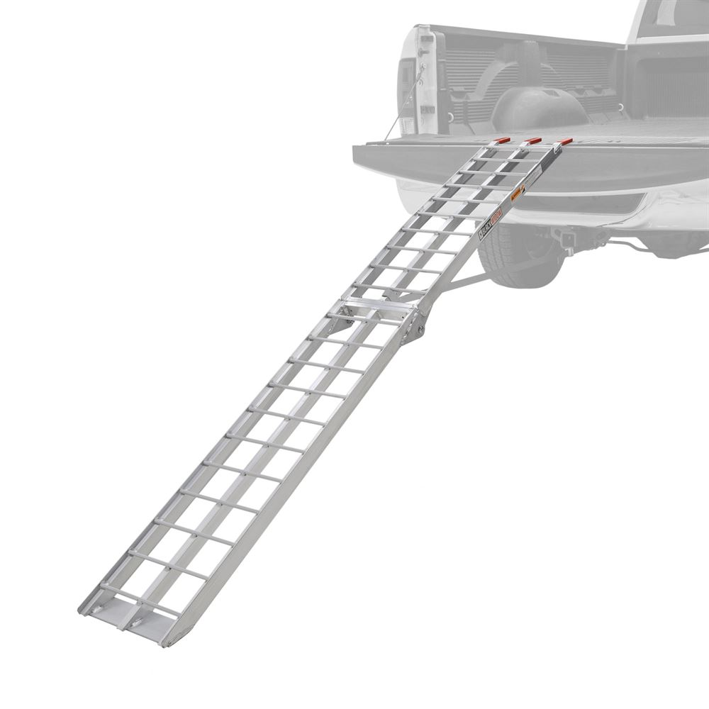 AFL-9012 7 6 Arched Folding Single Runner Motorcycle Ramp
