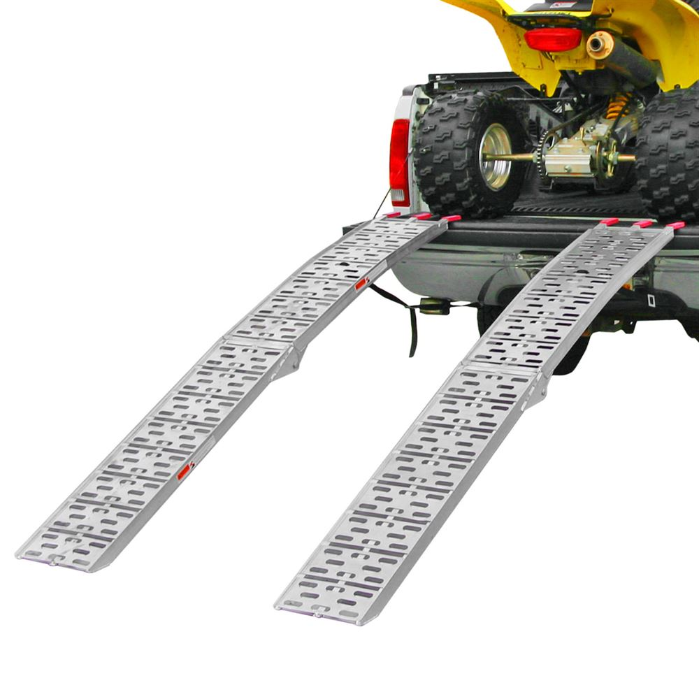 AFP-9012-2 7 6 Arched Folding Dual Runner ATV Ramps