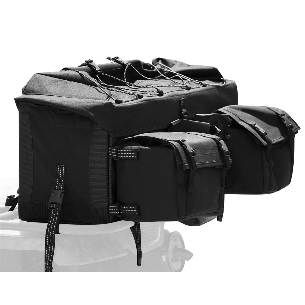 ATV-RBG-9030-BK ATV Rear Rack Gear Bag Black