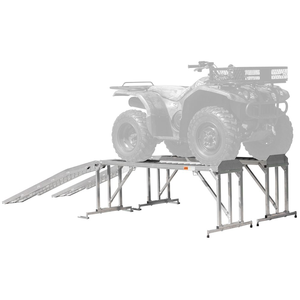 ATV-TRA-STAND Aluminum ATV  Lawn Tractor Stand