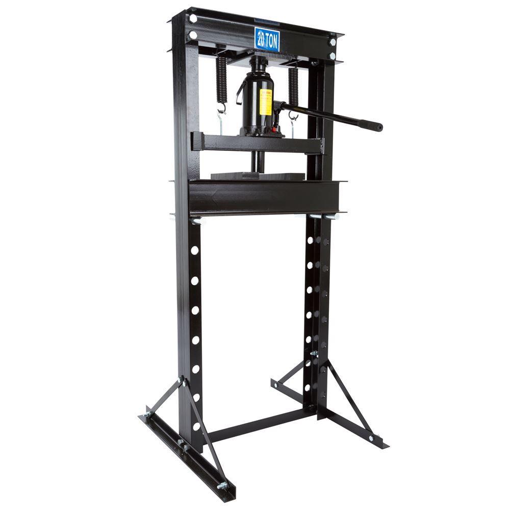 BD-PRESS-20H 20-Ton Hydraulic Shop Press