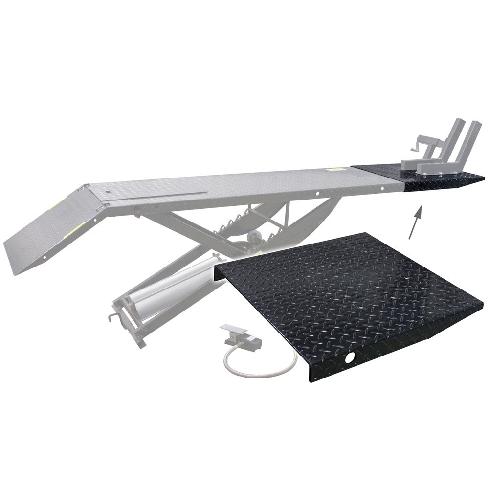 BW-1000A-EXT Front Wheel Extension for BW-1000A Lift Table