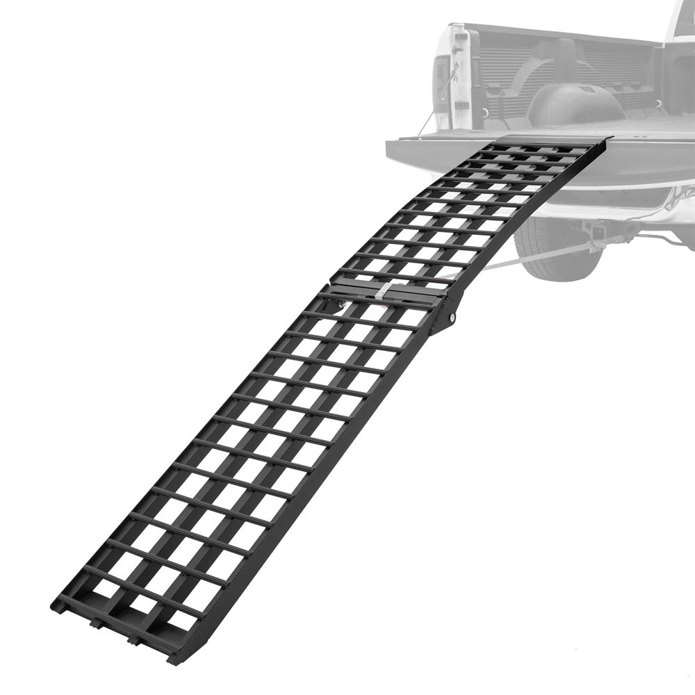 BW-10817-HD 9 Folding Arched Motorcycle Ramp