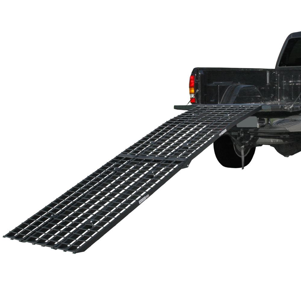 BW-12040-HD 10 Heavy-Duty Folding Arched Motorcycle Ramp