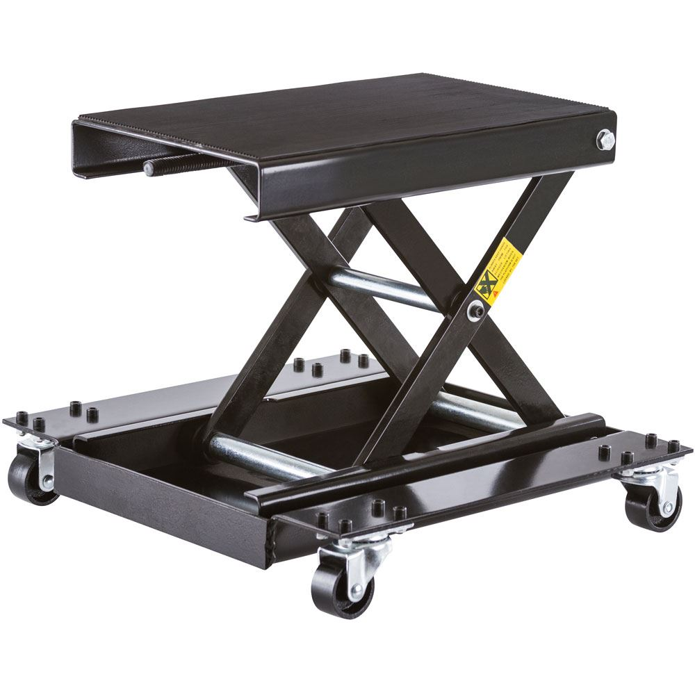 BW-1604D Motorcycle Scissor Jack with Dolly