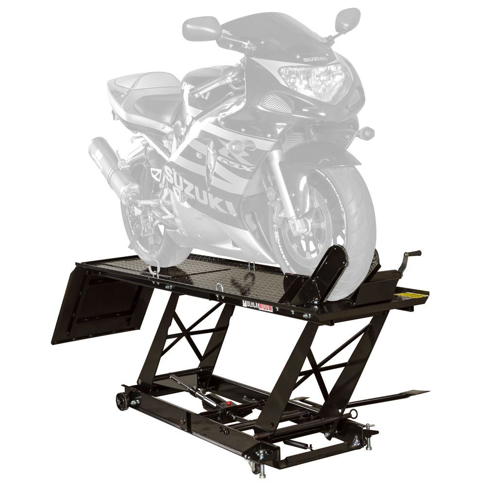 BW-680 Hydraulic Motorcycle Lift Table
