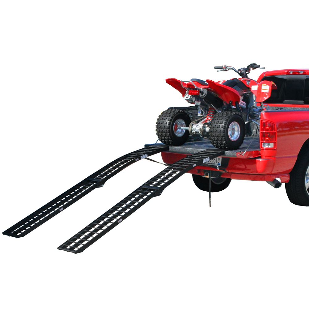 BW-9412-2 8 Arched Folding Dual Runner ATV Ramps