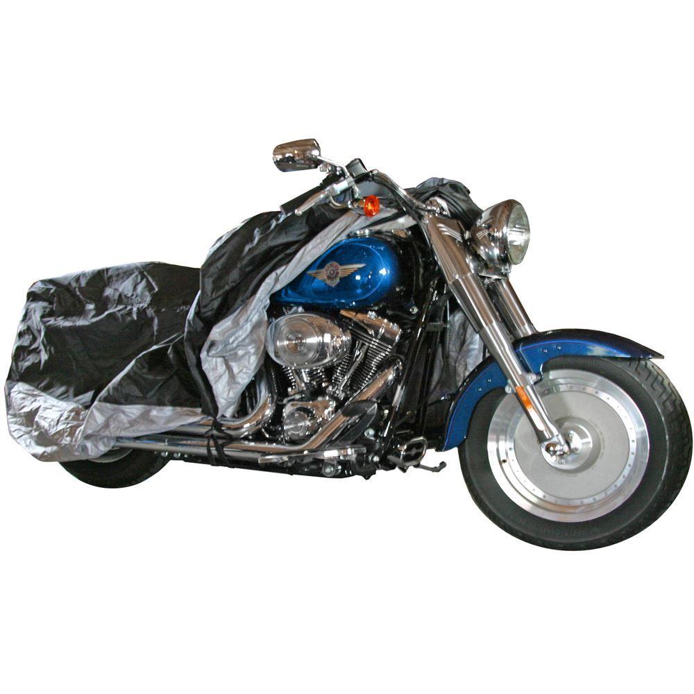 DMC-L Deluxe Waterproof Motorcycle Cover Large