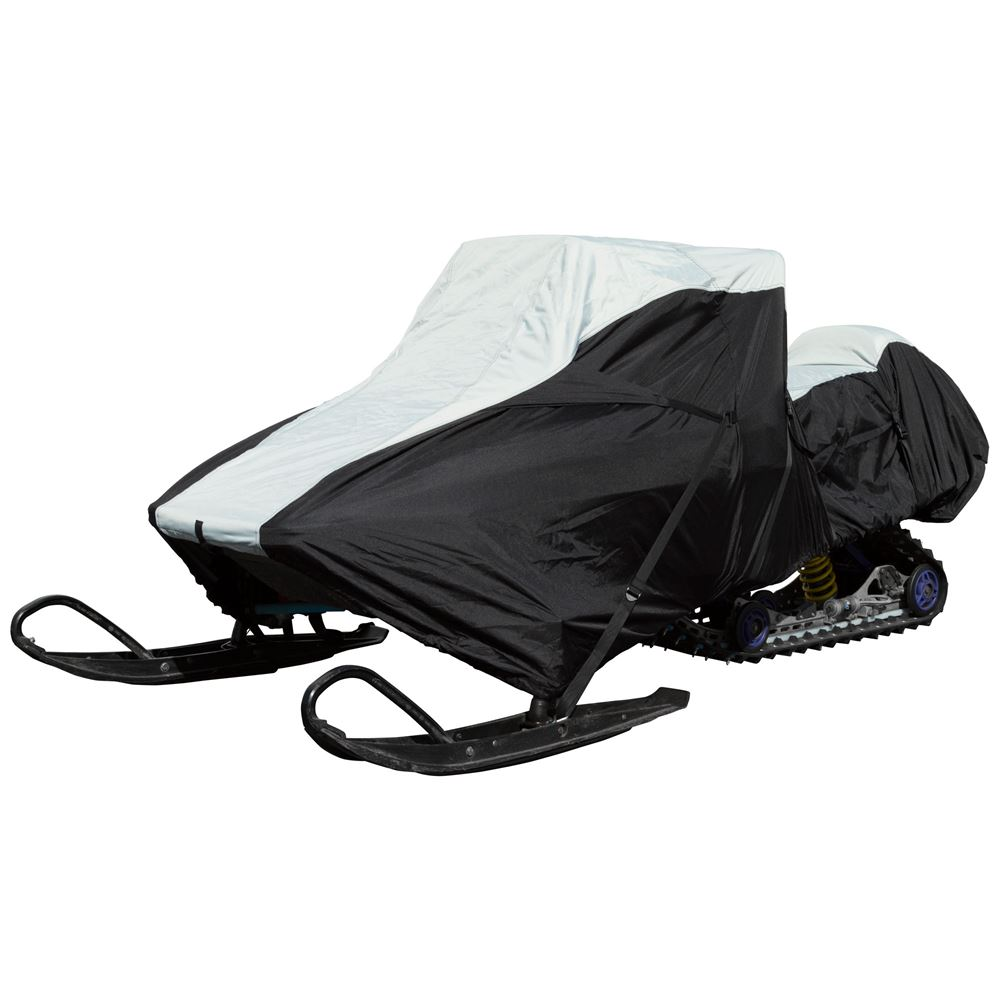 SNC-DLXT-A Black Ice Waterproof Snowmobile Cover Small