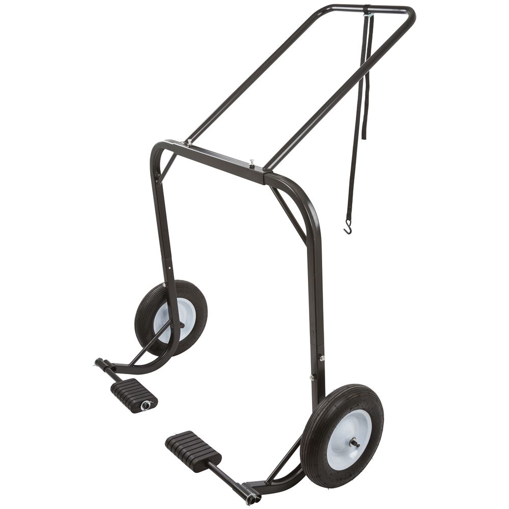 SNO-1509 Black Ice Snowmobile Shop Dolly