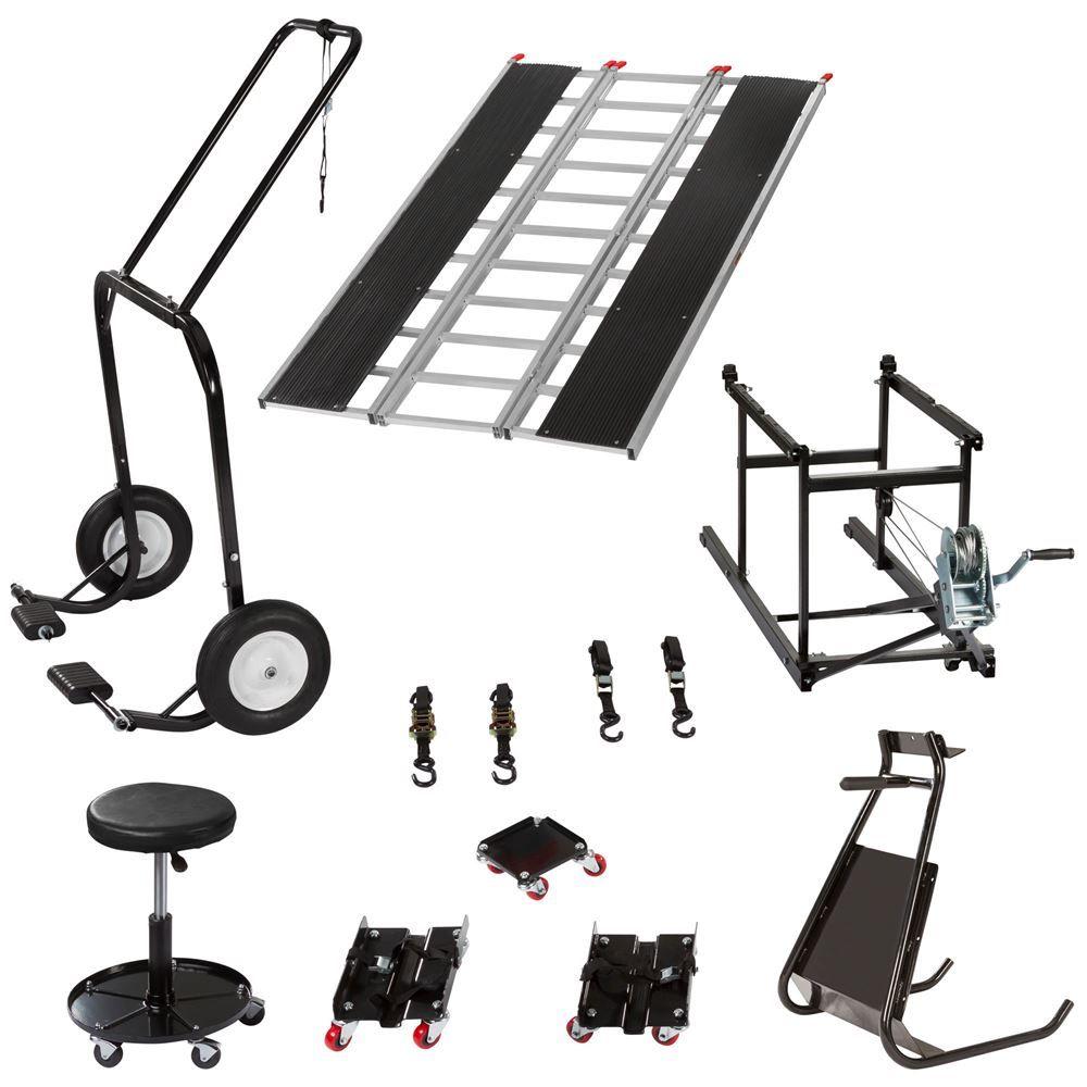SNO-SK-P Black Ice Professional Snowmobile Shop Kit