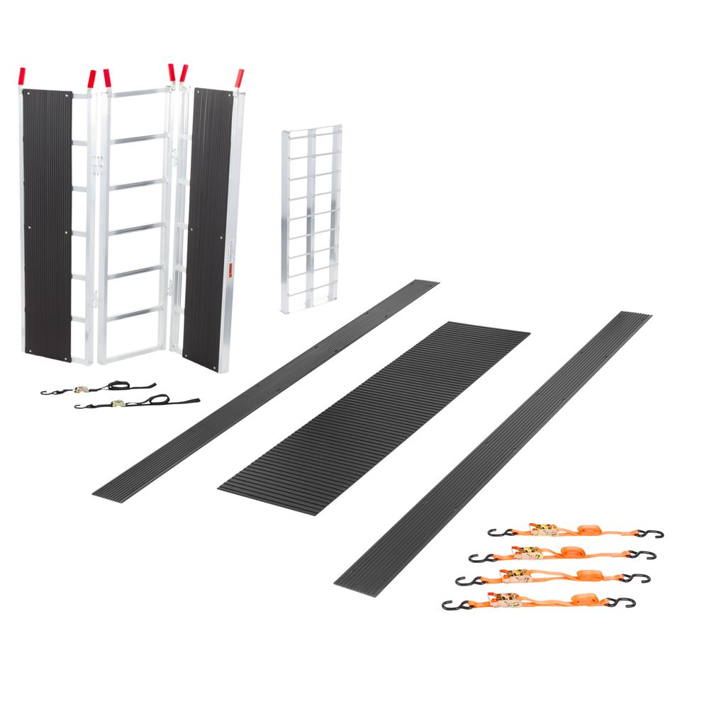 SNO-TK-SD Black Ice Deluxe Single Snowmobile Trailer Accessory Kit