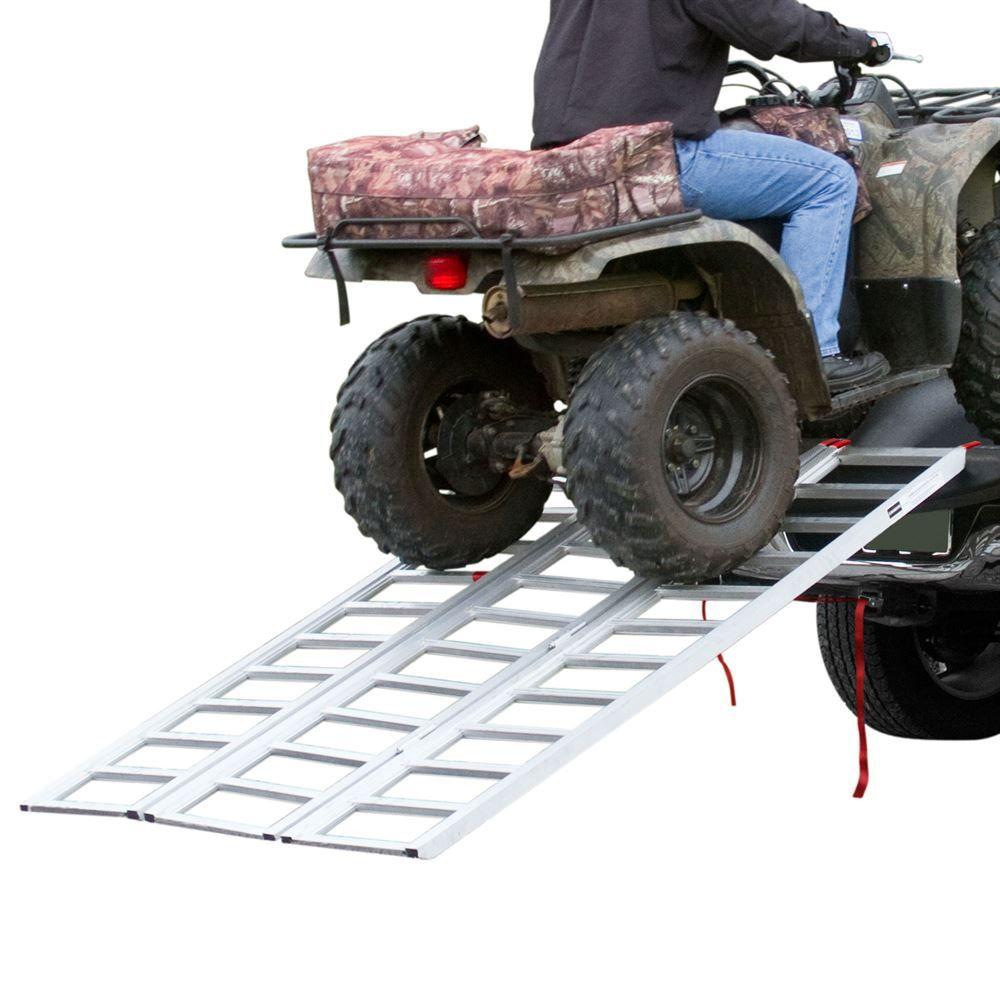 TF-7754 6 5 Extra-Wide Tri-Fold ATV Ramp