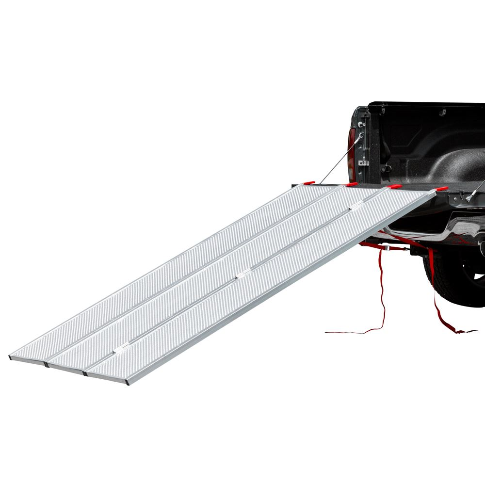 TFS-54 Aluminum Extra-Wide ATV Ramp with Punch Plate Traction